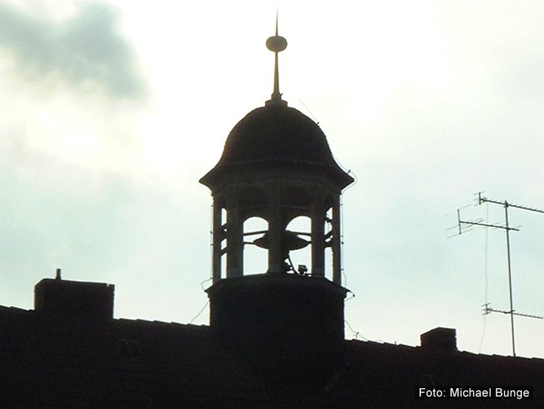 Der Glockenturm vor dem Umbau